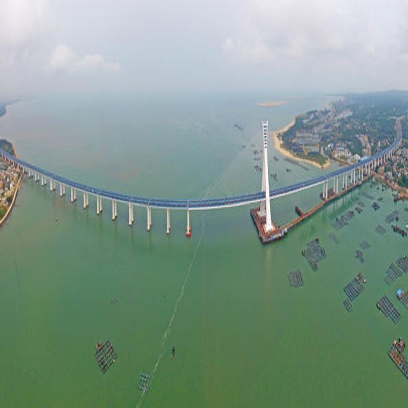 海文大桥拉弯工程
