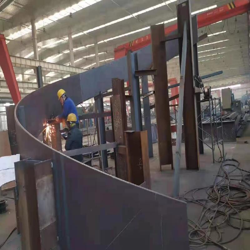 海南钢板加工